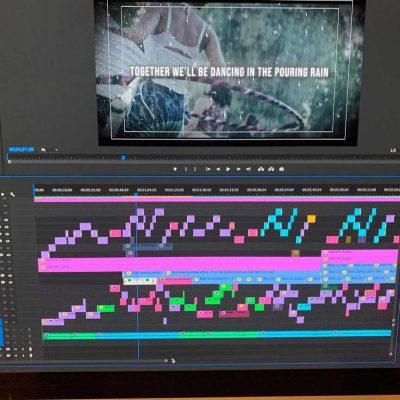 premiere pro timeline video editor